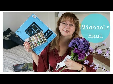 Michaels haul - my craft shop purchases with reviews
