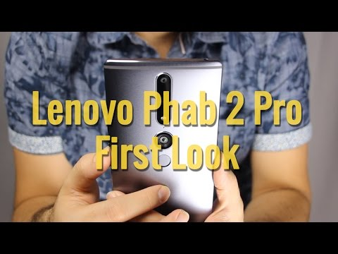 Lenovo Phab 2 Pro - A first look at Tango