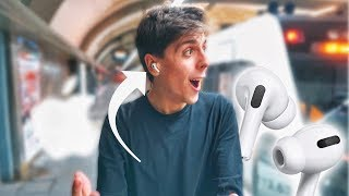 AirPods Pro are INSANE! (Real Life Testing)
