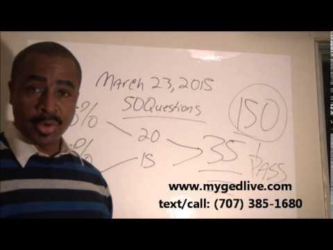 A Winning Formula to Pass the GED Math Test