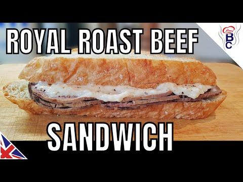British Royal Wedding Food - Beef And Horseradish Sandwich Picnic Idea