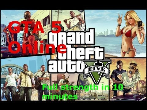 GTA Online: Fastest way to get your strength up