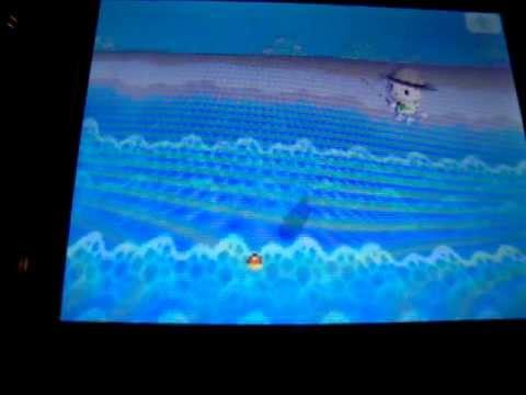 Animal Crossing Wild World Catching a Tuna