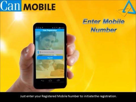 How to Activate mobile banking in Canara bank (can mobile)