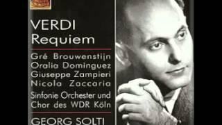 Nicola Zaccaria - Verdi  Messa Da Requiem/solti