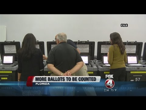 More Mail-In Ballots Counted in Florida