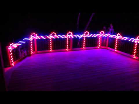 candy cane rgb lights