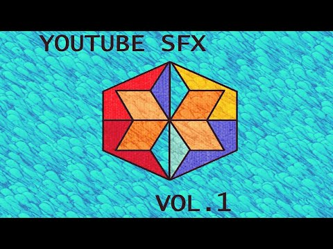 Youtube free sfx pack vol.1 (for creators)..