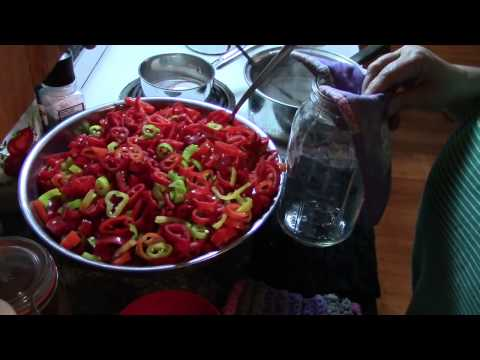 Pickled Hot Peppers!!
