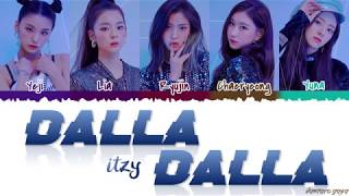 Download ITZY (있지) - 'DALLA DALLA' (달라달라) Lyrics [Color Coded Han Rom Eng] Video