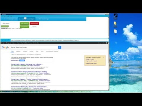 How to EXTRACT EMAIL FACEBOOK TWITTER LINKEDIN