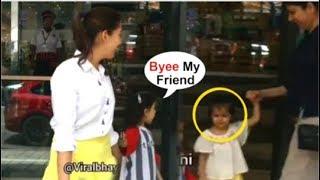 Mira Rajput's Daughter Misha Kapoor's CUTE Video Saying Goodbye To Her Friend