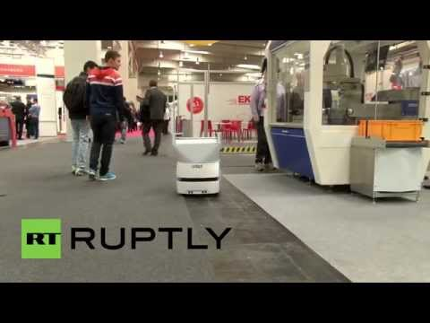 Germany: Are these mobile robots and AGVs the future of the workplace?