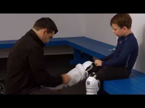 How to fit Hockey Shin Guards  by WINNWELL HOCKEY