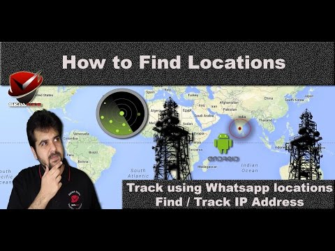 Find Locations | Track using Whatsapp | YouTube | FaceBook | Links & iP Address