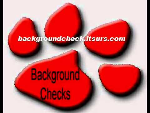 How To Get A Background Check