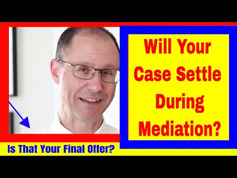 Defense Wants to NEGOTIATE Your Case PRIVATELY through Mediation. Will Your Case Settle?