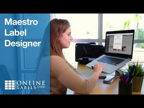 Maestro Label Designer by OnlineLabels.com