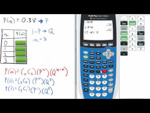 Create a Probability Distribution Chart given P(x) (Prob. 9, part 1) TI 84 Stats