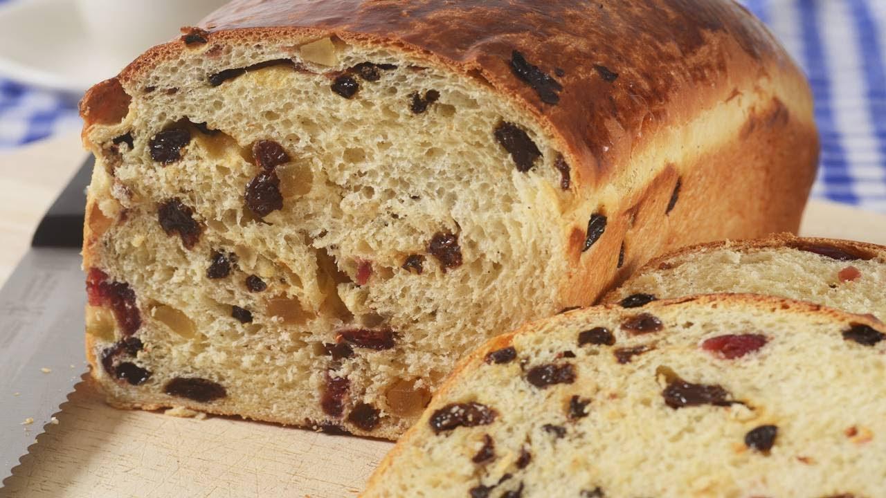 Fruit Bread Recipe Demonstration - Joyofbaking.com