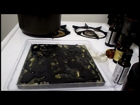 How to make Activated Charcoal Soap Recipe Tutorial