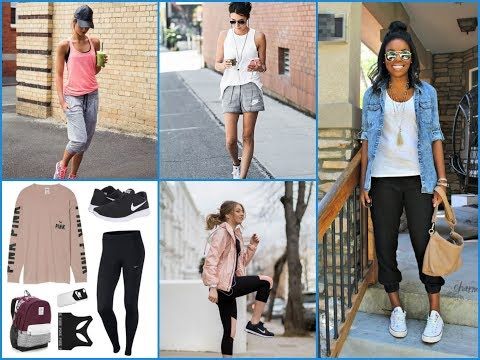 25 Cute Sporty Outfits Ideas for Womens 2018