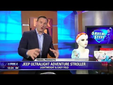J is for Jeep Ultralight Adventure Stroller Featured as Summer Travel Must-Have