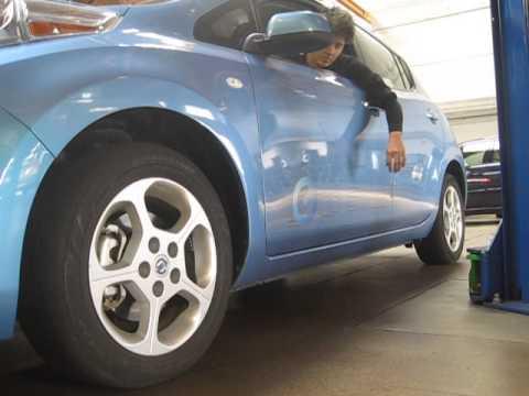 Nissan Leaf LF wheel creaking noise