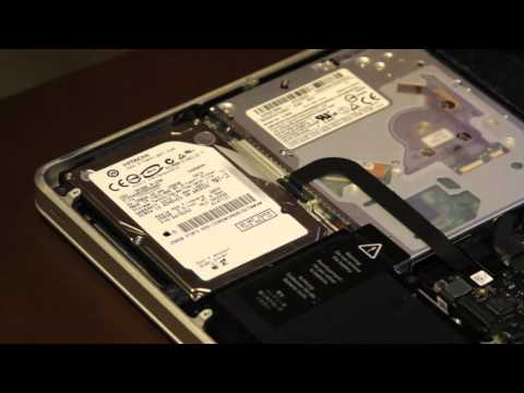 How to Install a Solid State Drive in MacBook Pro