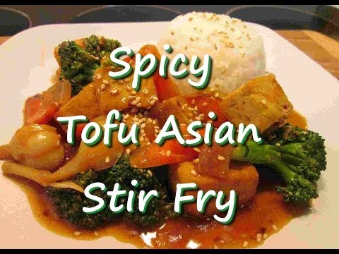 How to Make Asian Tofu Broccoli Stir Fry with Rice Recipe