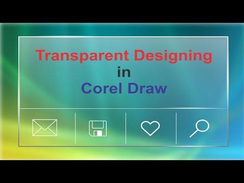 Transparent Designing - Corel Draw Tutorials