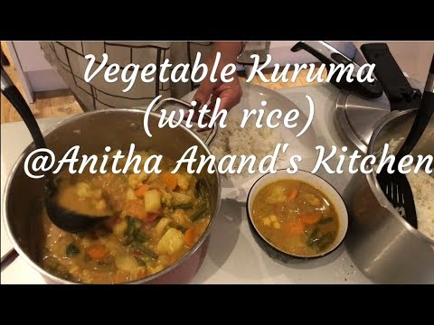Vegetable Kurma (with Rice) - Tamil Commentary