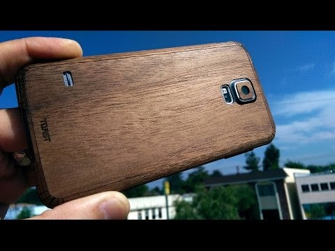 Review: Toast Real Wood Cover for the Samsung Galaxy S5 (Made in the USA)
