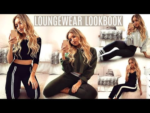LOUNGEWEAR LOOKBOOK / 5 COMFY AT HOME OUTFITS 2017