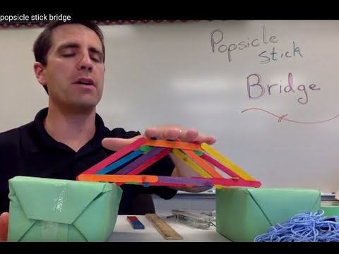 Popsicle Bridge (STEM Activity)