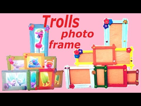 Trolls movie  photo  booth / frame