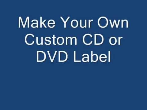 CD Label Maker Software.wmv