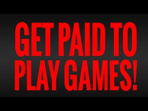 You can Get Paid to Play Games -- Get a Game Tester Job