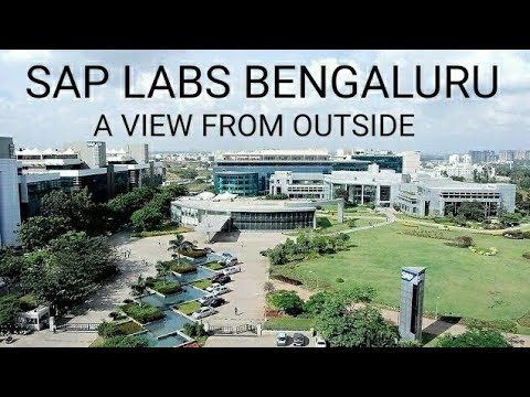 SAP Labs Bangalore - a view from outside.
