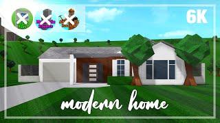 Modern Bloxburg House 1 Story Tutorial Free Robux Promo Codes