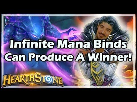 [Hearthstone] Infinite Mana Binds Can Produce A Winner!
