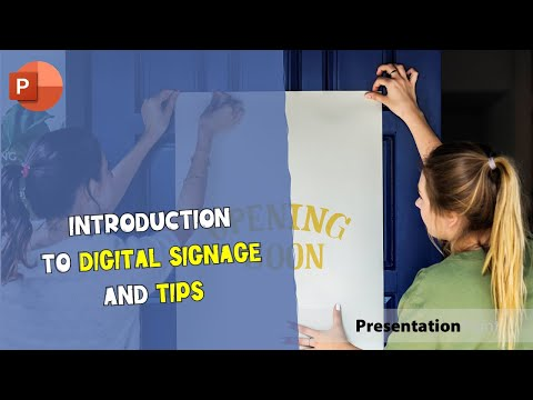 Introduction to Digital Signage and Tips