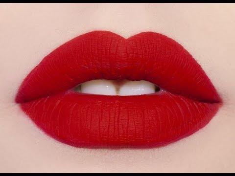 DIY matte liquid lipstick-easy and long lasting  matte lipstick at home  DIY matte lipstick tutorial