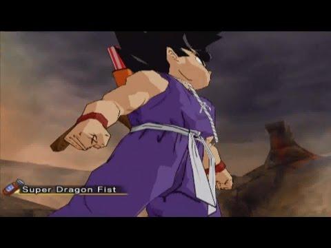 DBZ Budokai 3 Kid Goku vs Broly