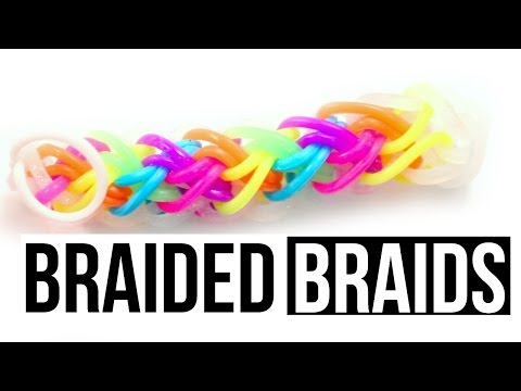 Braided Braids Bracelet | Rainbow Loom Tutorial