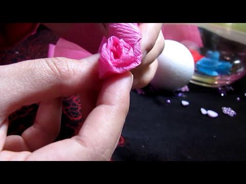 Diy: paper flower ball
