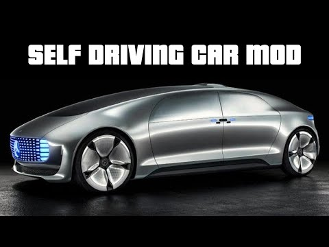 SELF DRIVING CARS | GTA 5 PC Mods