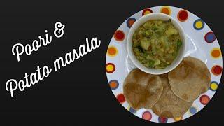 Restaurant style Poori and Potato Masala by Revathy shanmugam