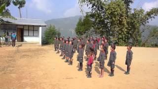 Lepcha Anthem sung at Pano Gaeboo Achyok Lepcha Primary School
