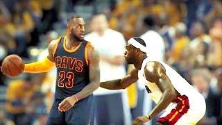 LeBron James vs LeBron James - LeBron James Playing Against HIMSELF 1-on-1